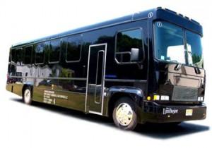 fancy party bus