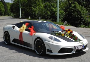 Decorated Sports Cars